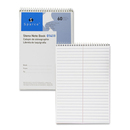 Sparco Steno Notebook, 60 Sheet - 15 lb - Gregg Ruled - 6