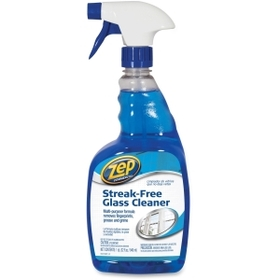 Zep Streak-free Glass Cleaner, Spray - 32fl oz - Blue, Price/EA