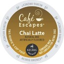 Keurig Cafe Escapes Chai Tea Latte K-Cups