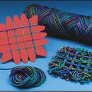 Yarn Weaving Coasters Craft Kit
