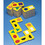 Foam Dominoes Shapes Set