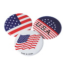 S&S American Flag Usa Buttons