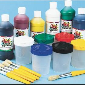 Color Splash! Washable Tempera Paint Kit, Price/per set