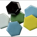 Mosaic Tile Shapes - Hexagon, 5-lb.