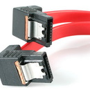 Startech 18in Right Angle Latching SATA Serial ATA Cable