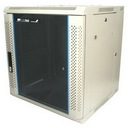 Startech 12U 19in Hinged Wall Mount Server Rack Cabinet w/ Vented Glass Door