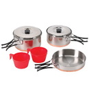 Stansport 362 Two Person Stainless Cook Set