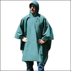 Stansport 960 Deluxe Laminated Nylon Poncho, Price/Piece