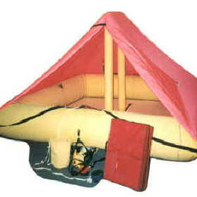 Survival Commercial Aviation FAA-TSO Approved Life Rafts (8-Man TSO With FAR 135 Kit)