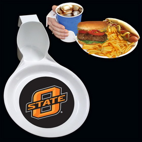 Siskiyou CDNP58 College Oklahoma St. Ultimate Party Plate