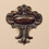 "Tapestries 984516 Patina Crest Topper - 9"" X 10"""