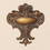 "Tapestries 984520 Sienna Crest Topper - 9"" X 10"""