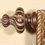 Tapestries CC48 Patina Swirl Finial - 5½""