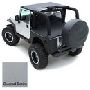 Smittybilt S-B721011 Jeep Tonneau Cover in Charcoal