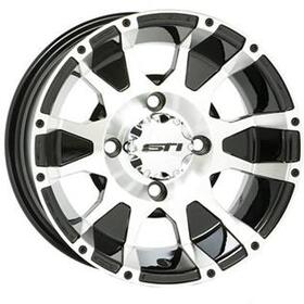 STI ATV Wheels STW12CM16 C7 Black