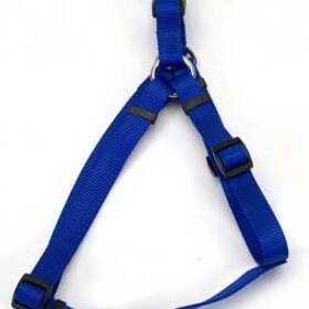 "Comfort Wrap Adj Harness 1"" Blue"