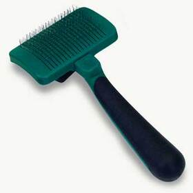 Safari Self - cleaning Slicker Brush Small