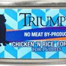 Triumph Dog Puppy Food Chicken 24/5.5oz