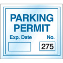 Seton Static Cling Parking Permits - Numbered 201-300 - 35433