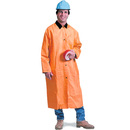 Seton 81881 Safety Today PVC-Polyester Rain Coat, Size: 2-XLG, Color: Orange