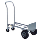 "Seton Dual Purpose Hand Trucks - 10"" Semi Pneumatic Wheel Truck - 83979"