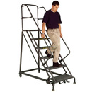 Seton Safety Angle Steel Rolling Ladders