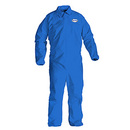 Kimberly-Clark BB750 Kimberly-Clark KLEENGUARD A20 Breathable Particle Protection Coveralls, Size: L
