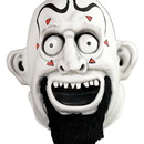 Trick Or Treat Studios TOT-RKGM100-C House of 1,000 Corpses Adult Costume Face Mask Ravelli