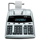 Victor VCT12403A 1240-3a Antimicrobial Printing Calculator, Black/red Print, 4.5 Lines/sec