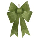 Vickerman M136514 24'' Lime Sequin Bow 1/Bag