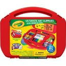 Crayola 04-5674 Ultimate Art Supplies Kit with Built-in Easel