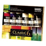 Liquitex Professional Series 101037 Heavy Body 6-Color Classic Set, Price/ST