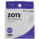 Therm O Web Zots™ TW3782 Clear Adhesive Boxed Dots Small, Price/BX