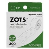 Therm O Web Zots TW3784 Clear Adhesive Boxed Dots Medium, Price/BX