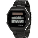 Vestal SYNDM01 Syncratic Solar Watch - Black/Brushed