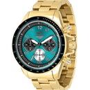 Vestal ZR2023 ZR2 Watch - Gold/Teal/Brushed