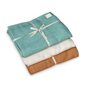 Wai Lana Cozy Cotton Yoga Blanket - Natural