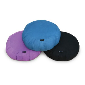 Wai Lana Zafu Meditation Cushion - Navy Blue