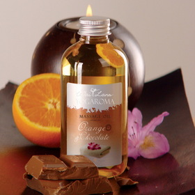 Wai Lana Orange & Chocolate Massage Oil
