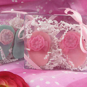 Wedding Belle Favors WB132 Flip Flop Soap Duo