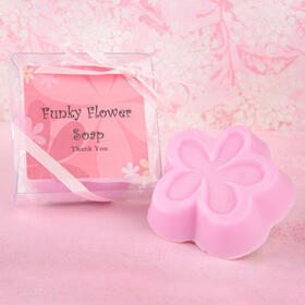Wedding Belle Favors WB340 Funky Flower Guest Soap