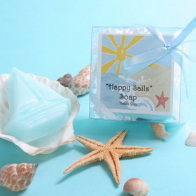"Wedding Belle Favors WB341 ""Happy Sails"" Soap"