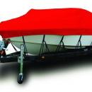 Westland BL2048R Bayliner Deck Boat 237 Covers Ext Platform W/Port Troll Motor I/O, Solution Dyed Polyester