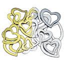 Weddingstar 1989-55 Stylized Open Heart - Gold
