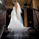 Weddingstar 8966 2-Tier White Standard Tulle Veil - Floor Length