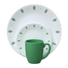CORELLE 1060126 Livingware City Gardens 16-pc Dinnerware Set