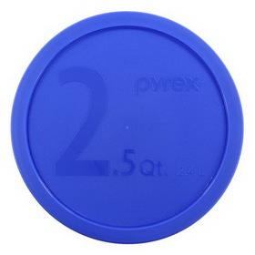 PYREX 1069398 Blue 2 1/2-qt Plastic Lid