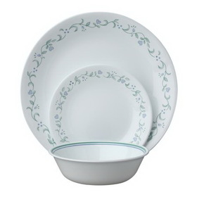 CORELLE 1088624 Livingware Country Cottage 18-pc Dinnerware Set
