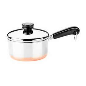 REVERE 3514017 Copper Clad 1-qt Covered Saucepan