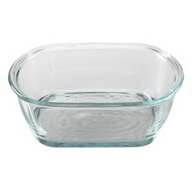 PYREX 5304098 Storage Deluxe 4.5-cup Square Dish